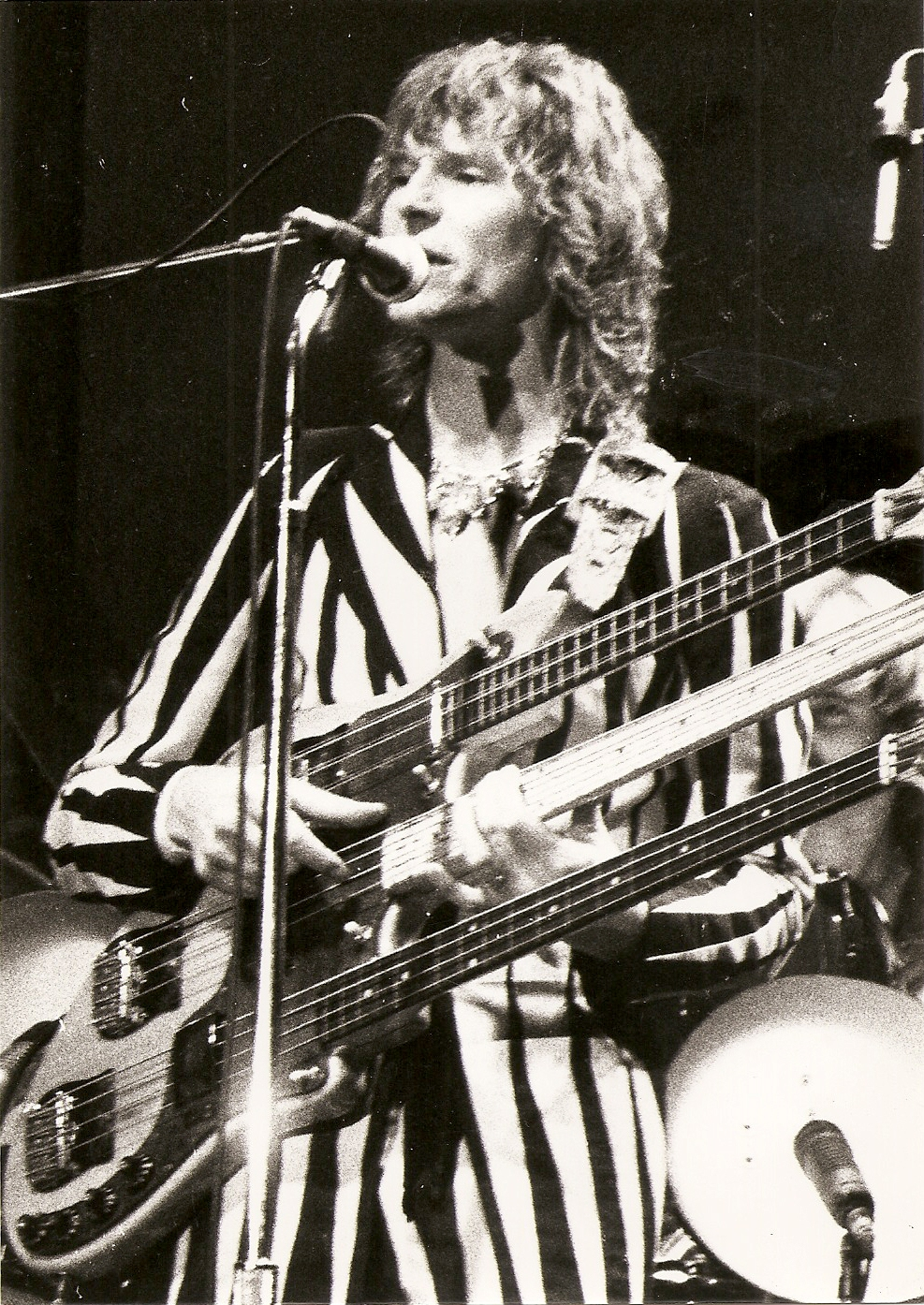 Yes (Chris Squire) - 1977 - Tournée Going for the one - Pavillon de Paris