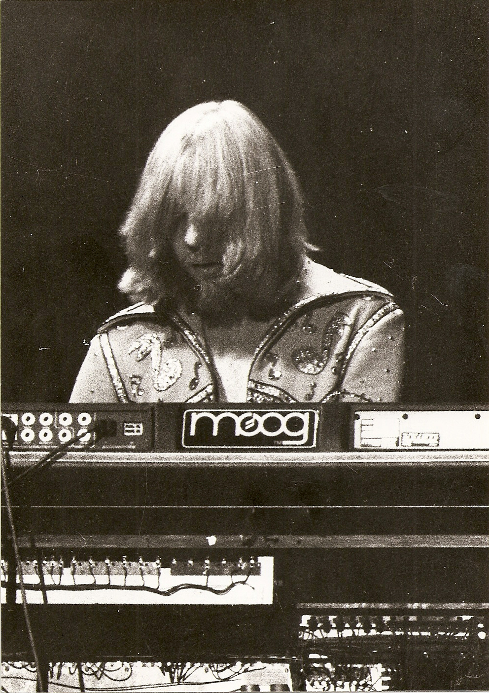 Yes (Rick Wakeman) - 1977 - Tournée Going for the one - Pavillon de Paris