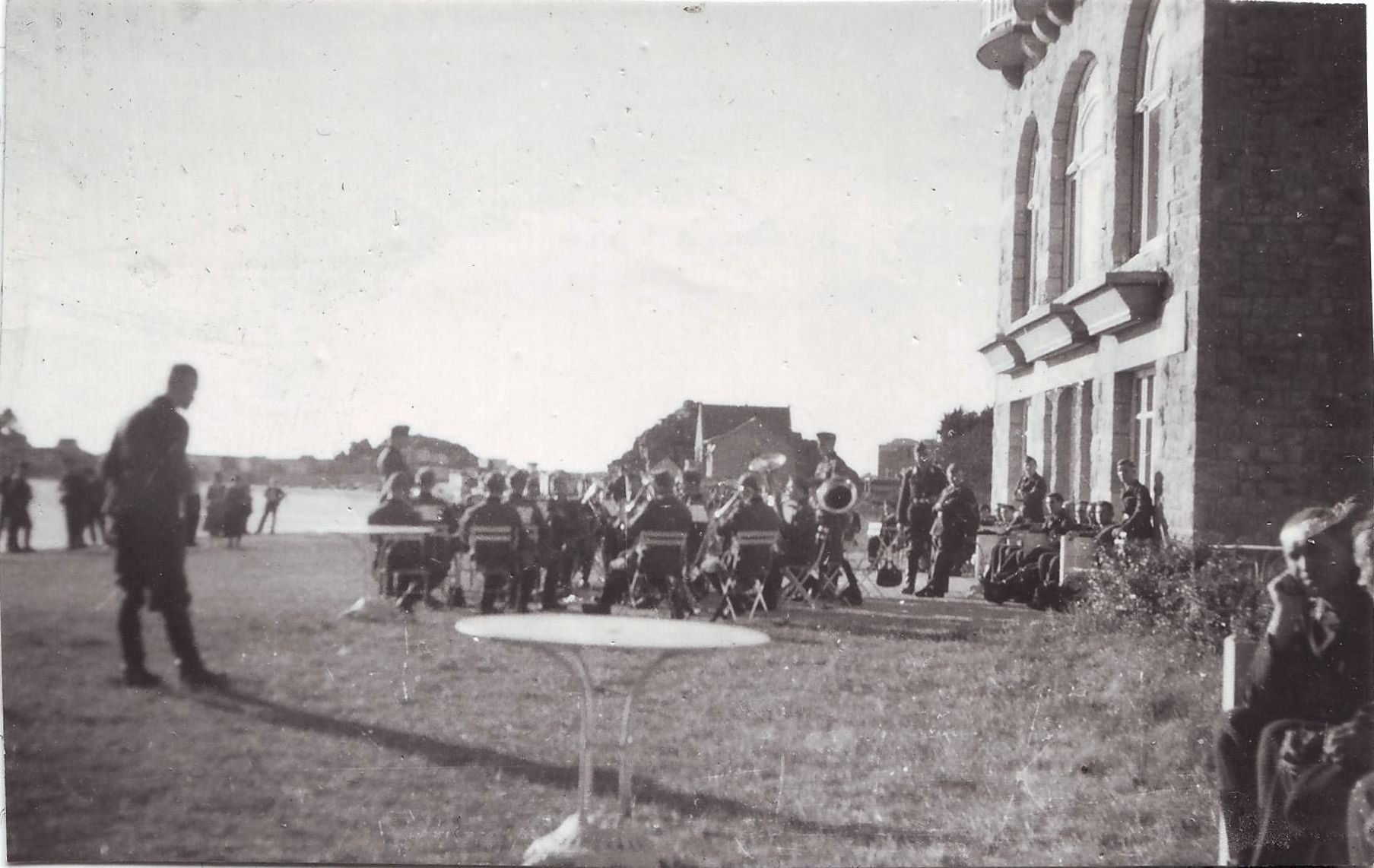 Trébeurden 1942 sous l'occupation allemande