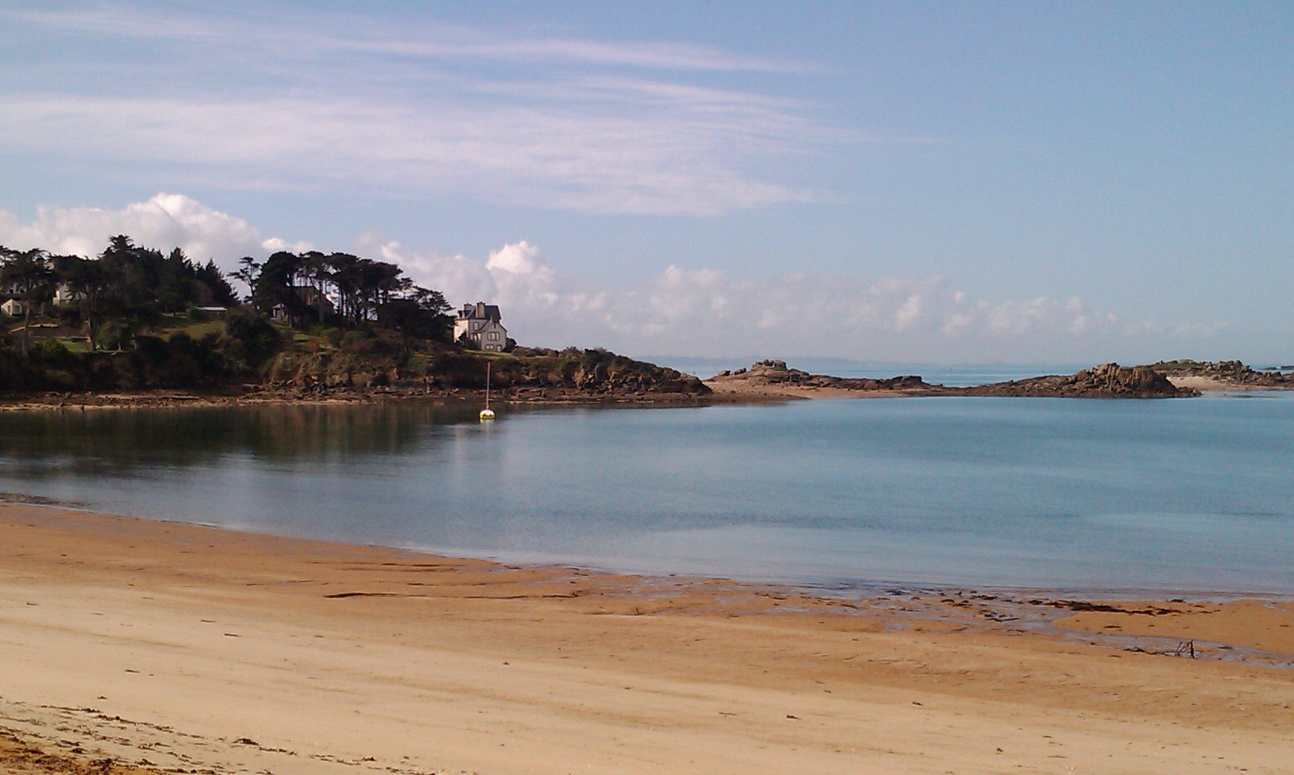 Trébeurden - plage de Goaz-Trez - 2014