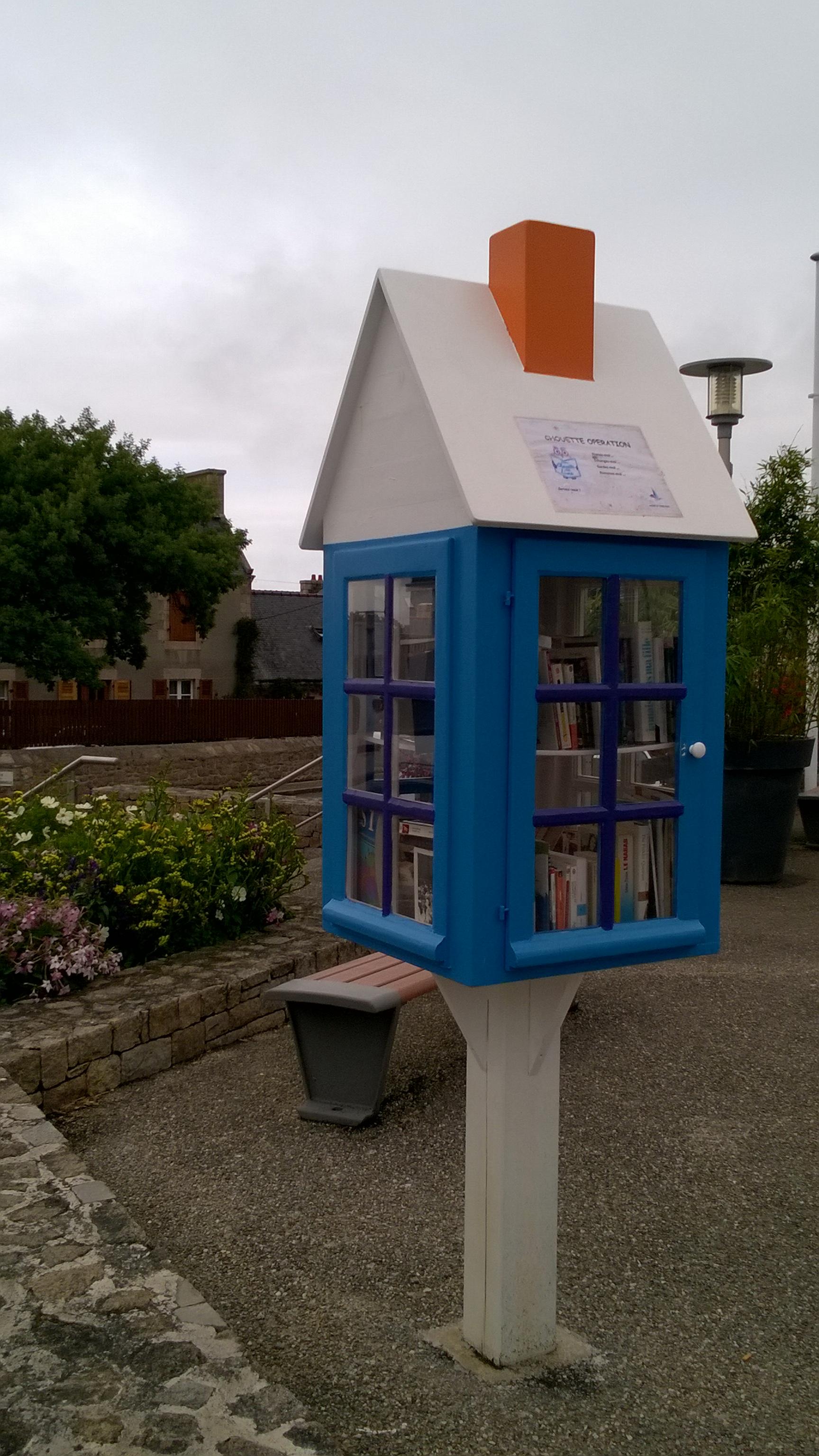 Trébeurden - la bibliothèque - 2015