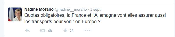 Tweet_Nadine_Morano_20150903_Immigration