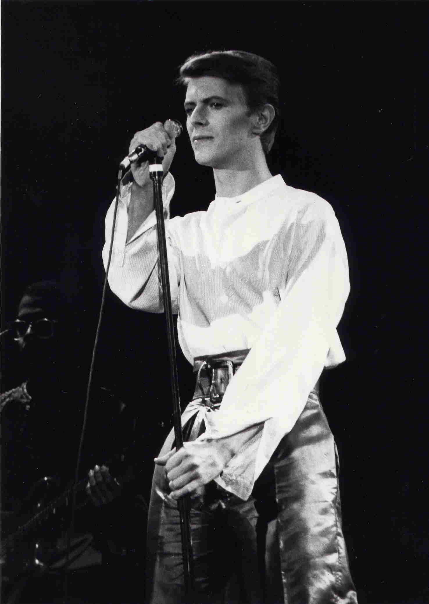 David Bowie - Heroes tour - 1978 - Paris Zénith