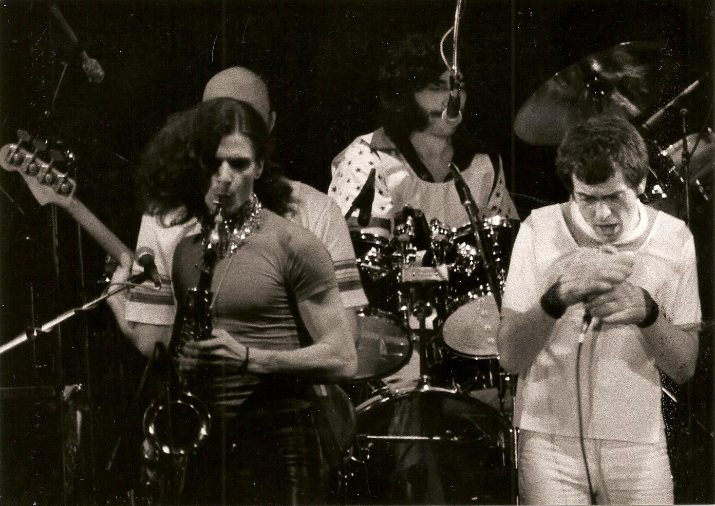 Peter Gabriel - 1978 - Tournée Peter Gabriel  2nd album - Paris 13ème