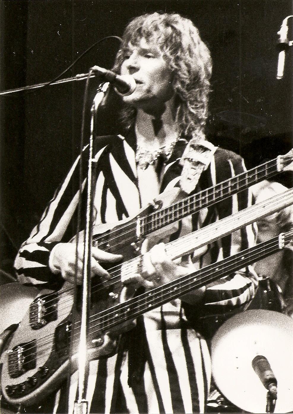 Yes (Chris Squire) - 1977 - Tournée Going for the one - Pavillon de Paris