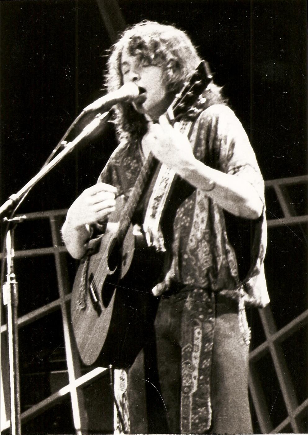 Yes (Jon Anderson) - 1977 - Tournée Going for the one - Pavillon de Paris