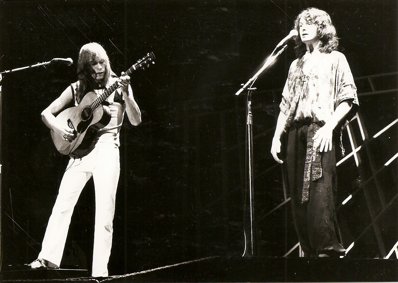Yes - 1977 - Tournée Going for the one - Pavillon de Paris