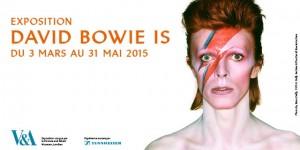 Bowie à l'affiche dans tout Paris et les dîners en ville. La consécration d'un vrai artiste !