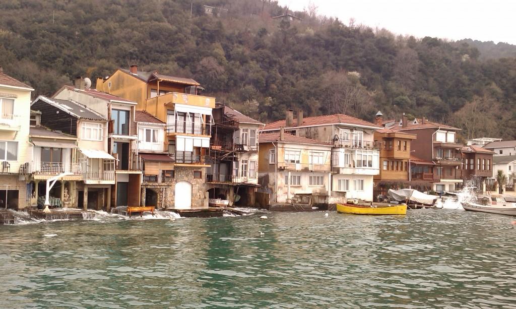 Anadolu Kavagi L'entrée sur ma Mer noire