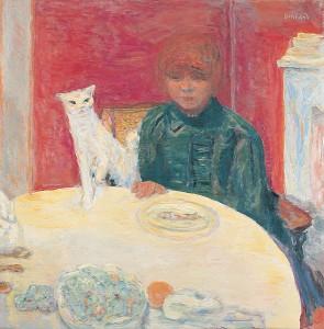 Bonnard_La-femme-au-chat