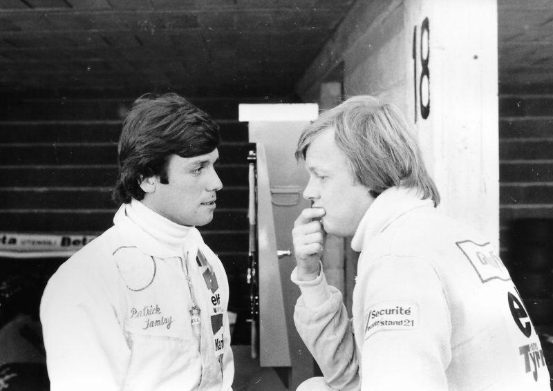 Patrick Tambay & Ronnie Peterson